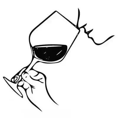 酒杯手绘简笔画